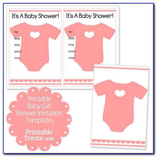 Free Baby Shower Invitation Templates For Photoshop