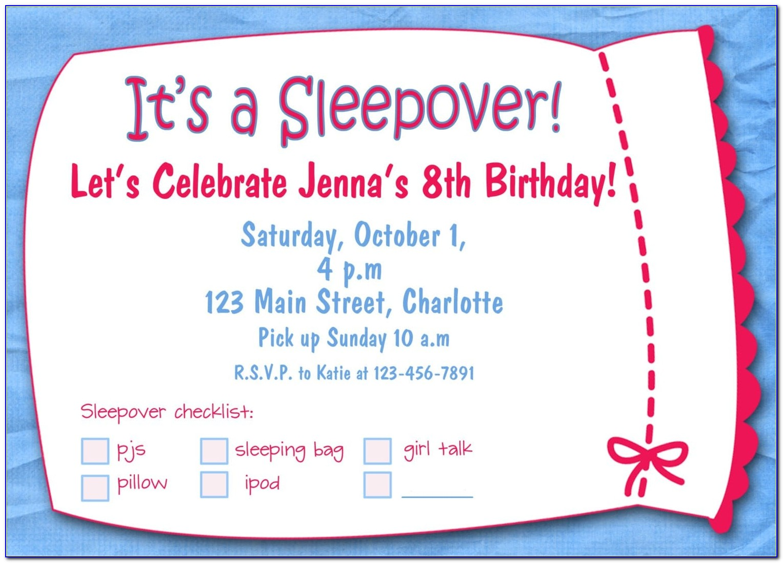 Free Birthday Party Invitation Templates Online