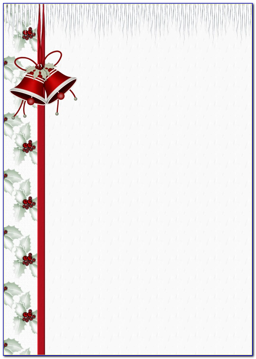 Free Christmas Letterhead Templates For Word