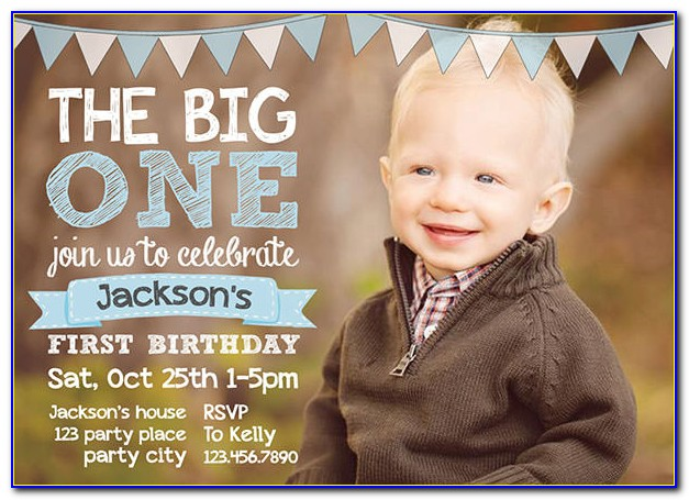 Free Download 1st Birthday Invitation Templates