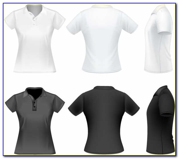 Free Download Polo Shirt Template