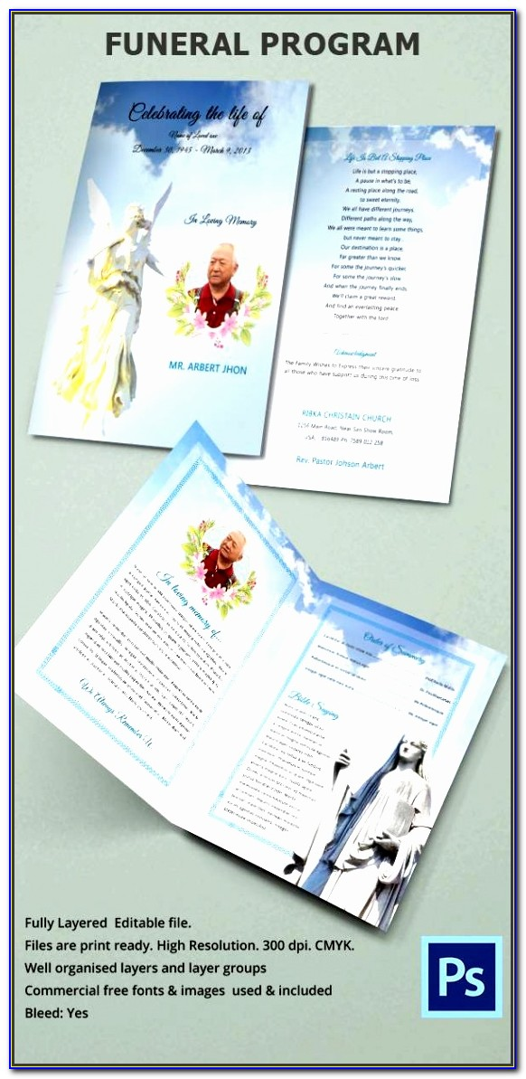 Editable Obituary Template Uxxrf Fresh Funeral Obituary Template 22 Free Word Excel Pdf Psd Format