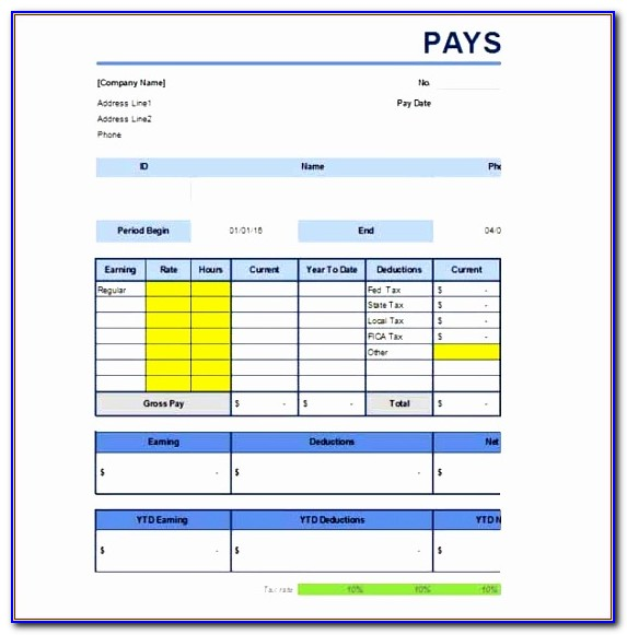 Free Paystub Template Excel Eqizd Unique Pay Stub Template Free Word Pdf Excel Format Documents