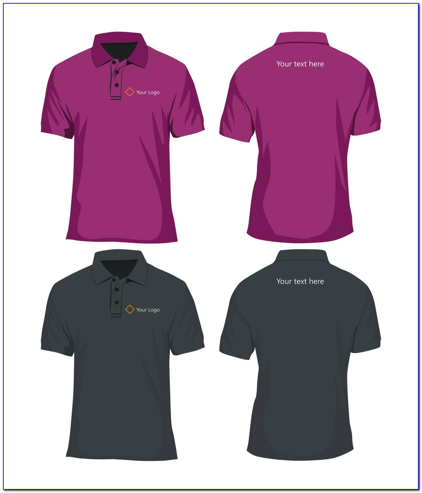 Free Polo Shirt Mockup Template Psd