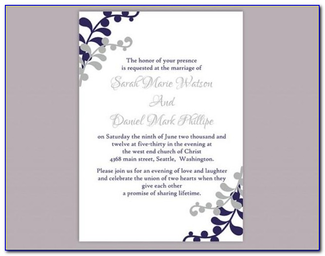 Free Printable Invitation Templates For Baptism
