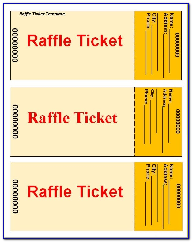 Sample Raffle Ticket Template 20+ Pdf, Psd, Illustration, Word In Raffle Ticket Templates