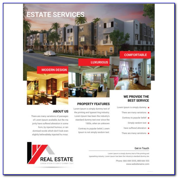 Free Real Estate Flyer Templates Psd
