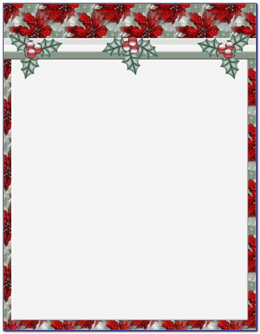 Free Religious Christmas Letterhead Templates