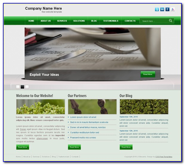 Free Religious Website Templates Download Html And Css