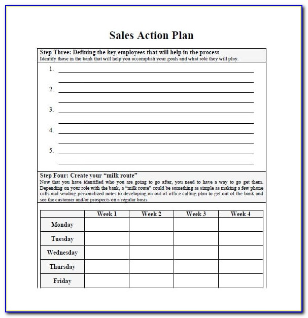 Free Sales Plan Template Powerpoint