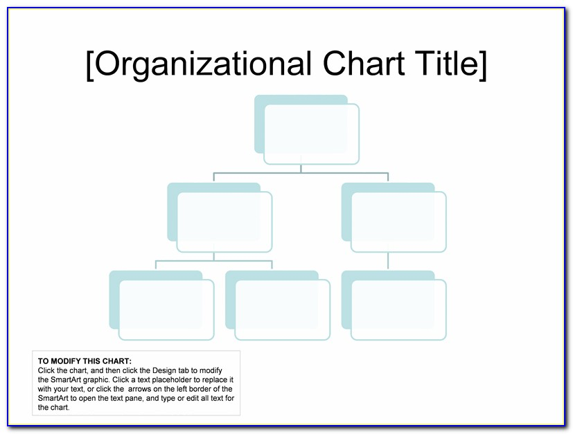 Functional Organizational Chart Template