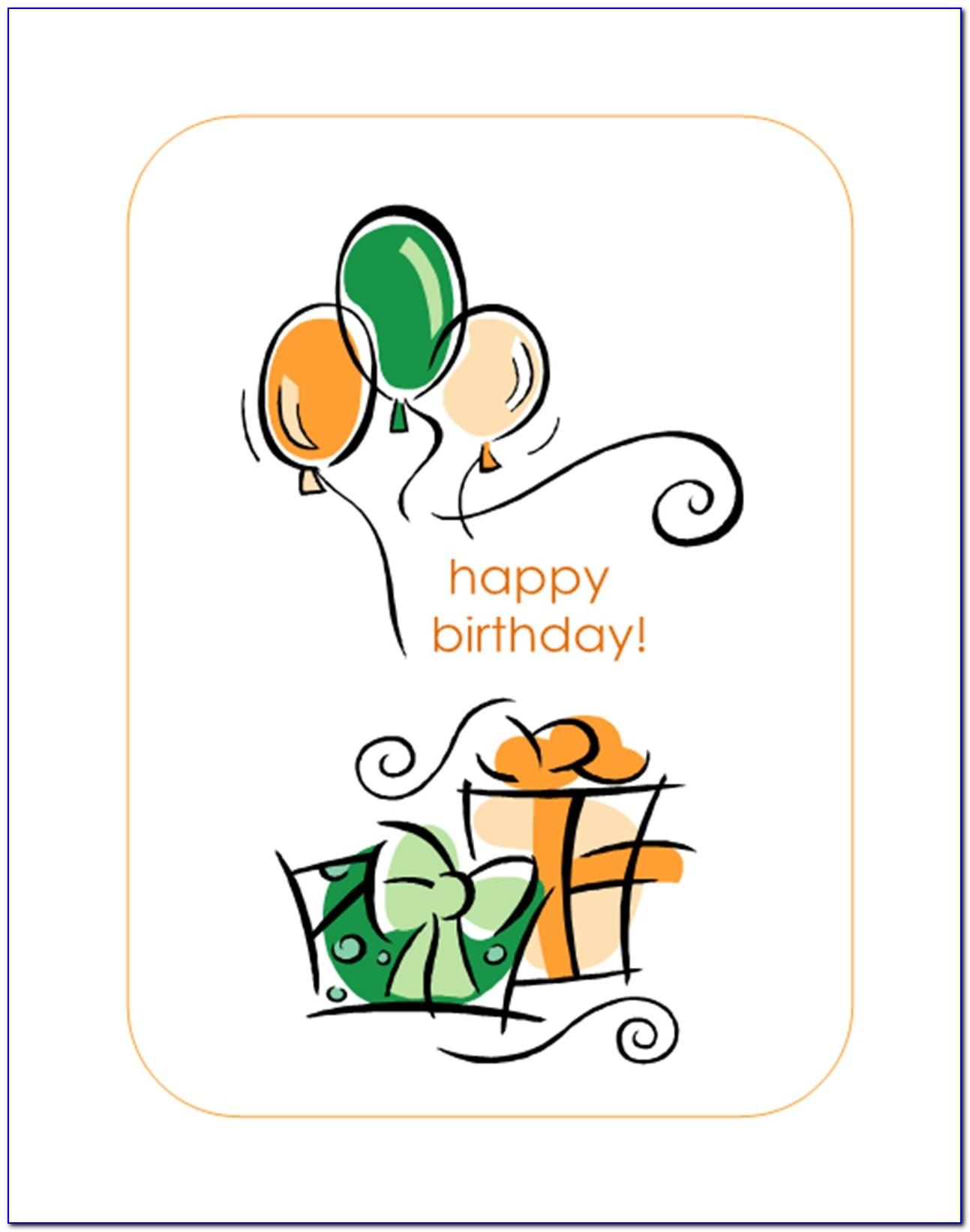 Funny Birthday Card Templates