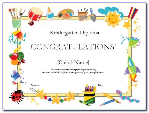 Graduation Certificate Templates Word