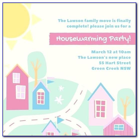 Housewarming Invitation Templates Free Download