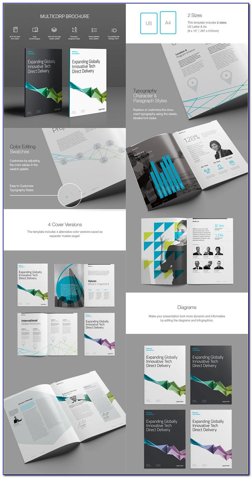 Indesign Brochure Templates Download