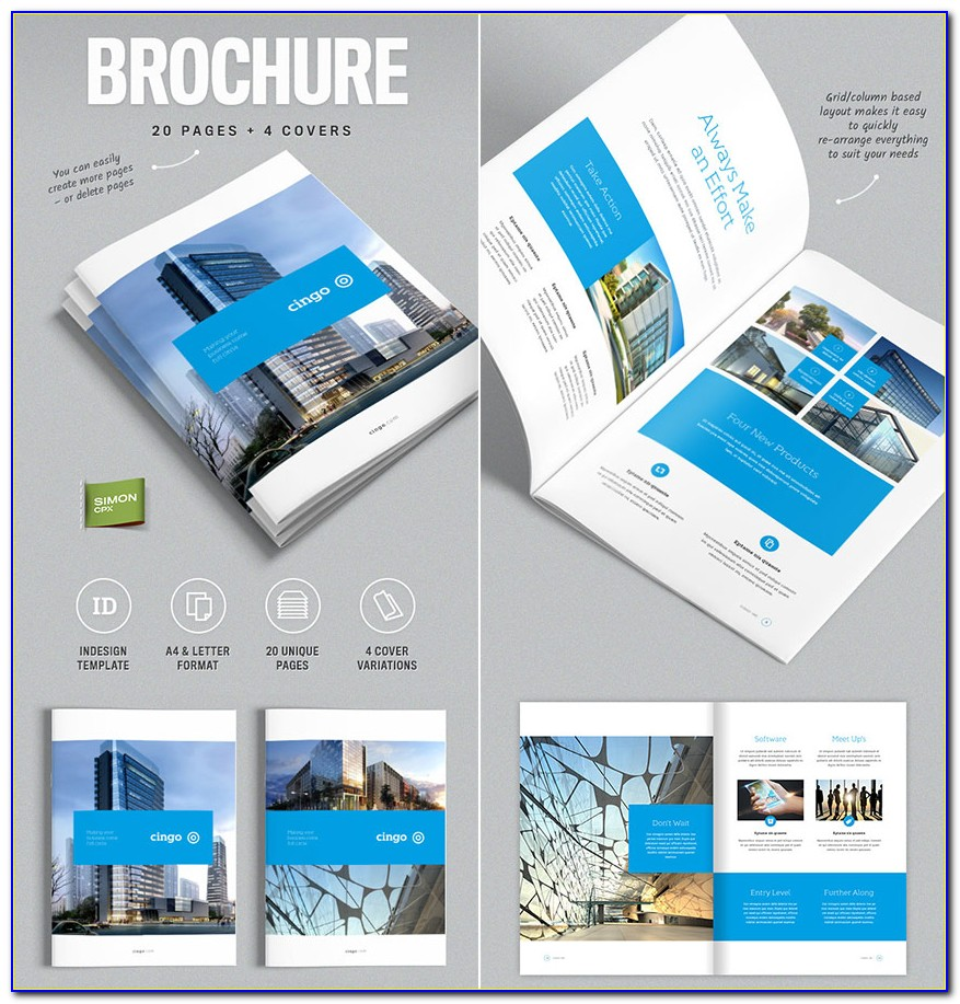 Indesign Brochure Templates Free Download