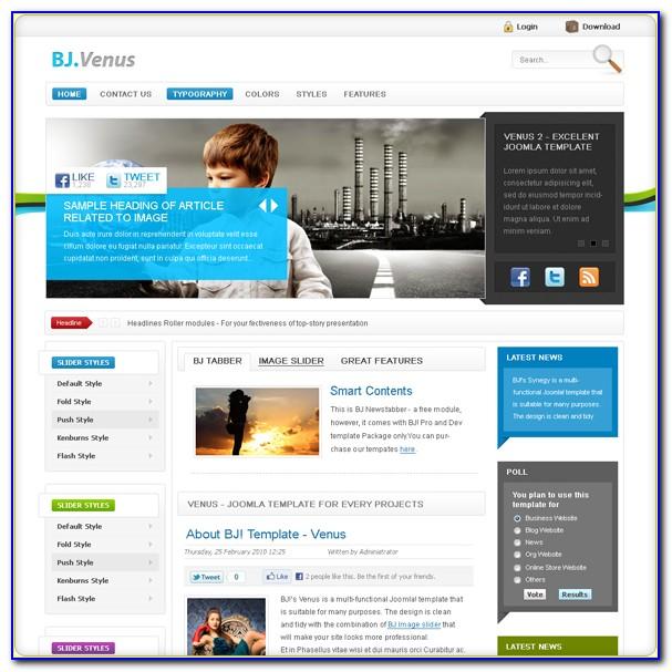 Joomla Professional Templates Free Download