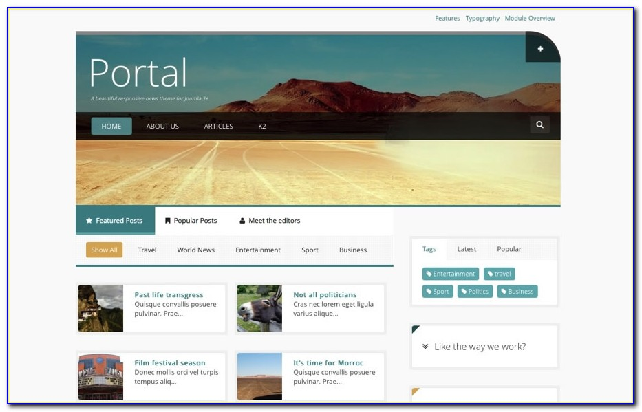 Joomla Templates Professional Business