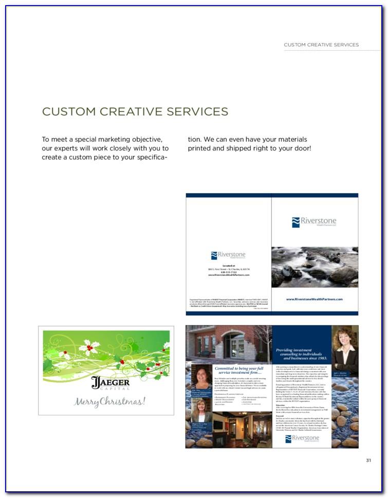 Marketing Brochure Template Free Download