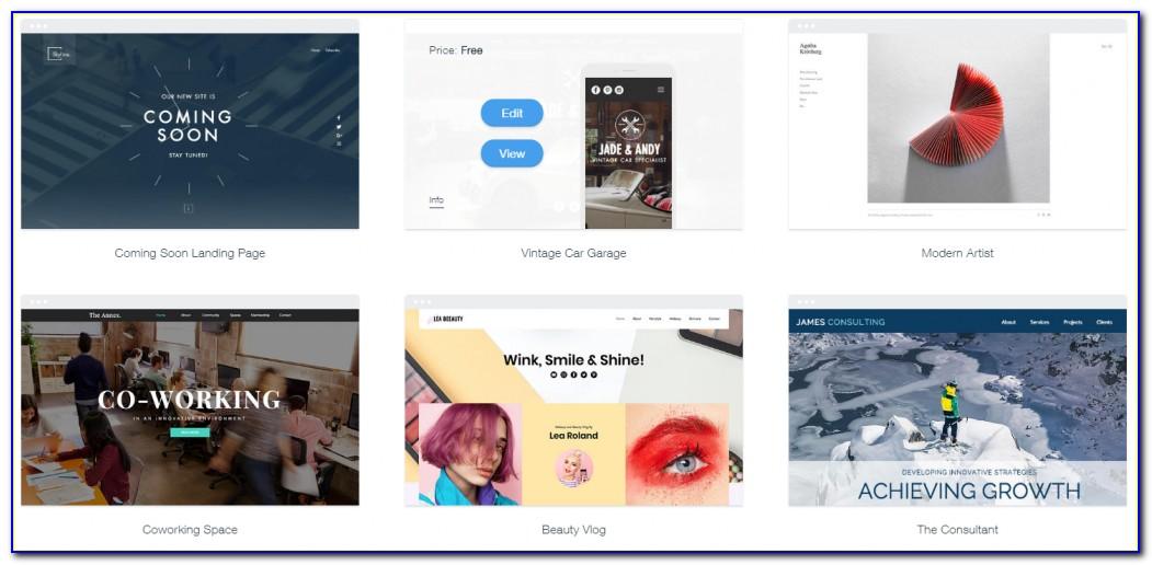 News Website Templates Wix