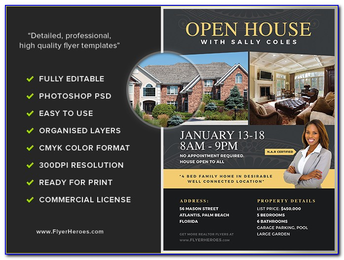 Open House Flyer Template Google Docs