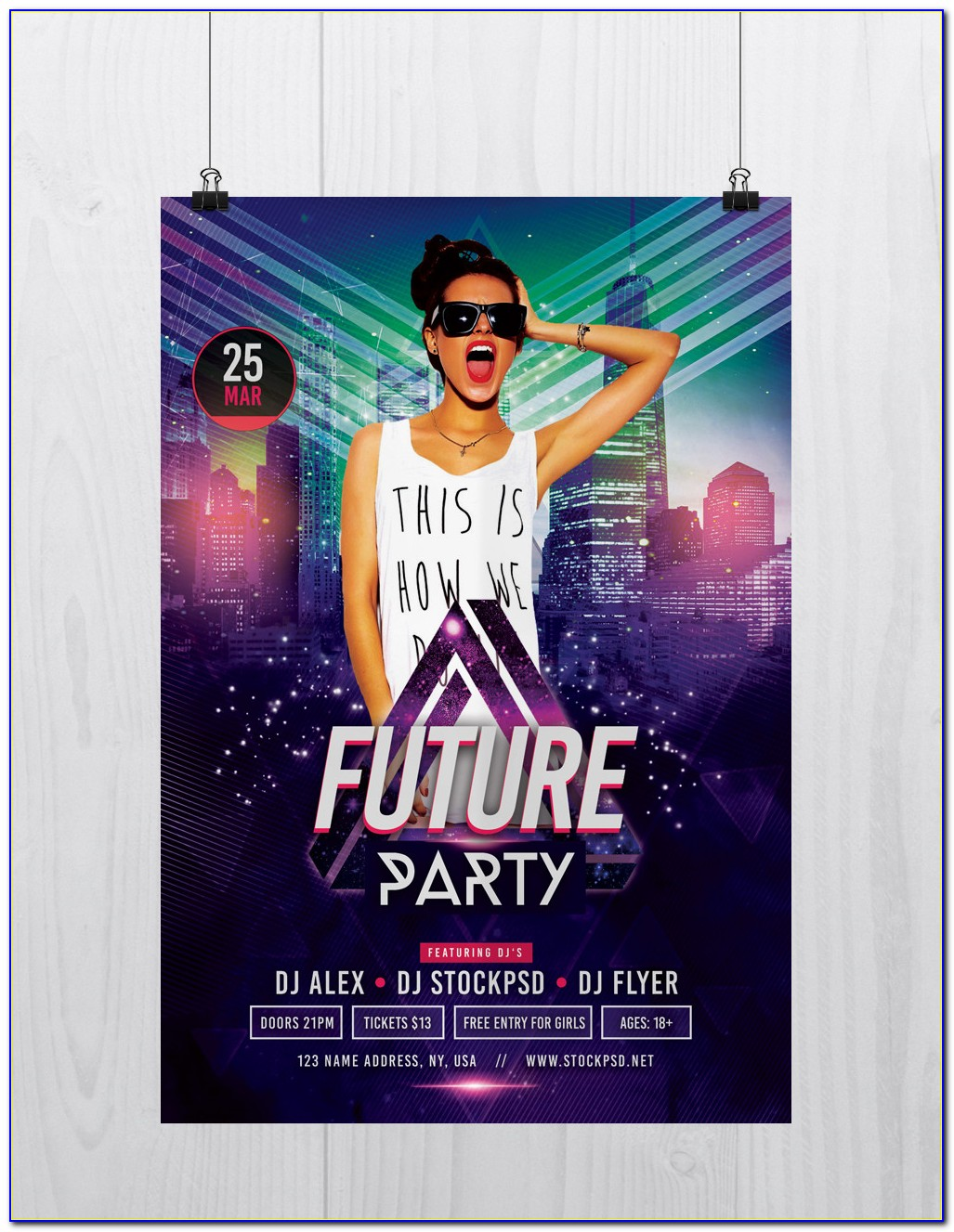 Party Flyer Templates Psd Free