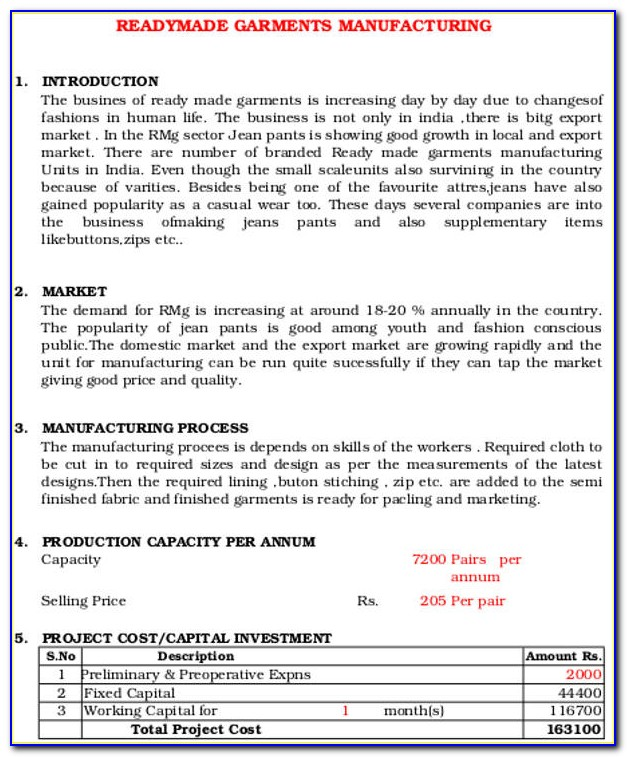 Production Company Business Plan Example