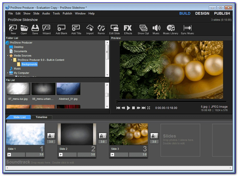 Proshow Gold Templates Free Download