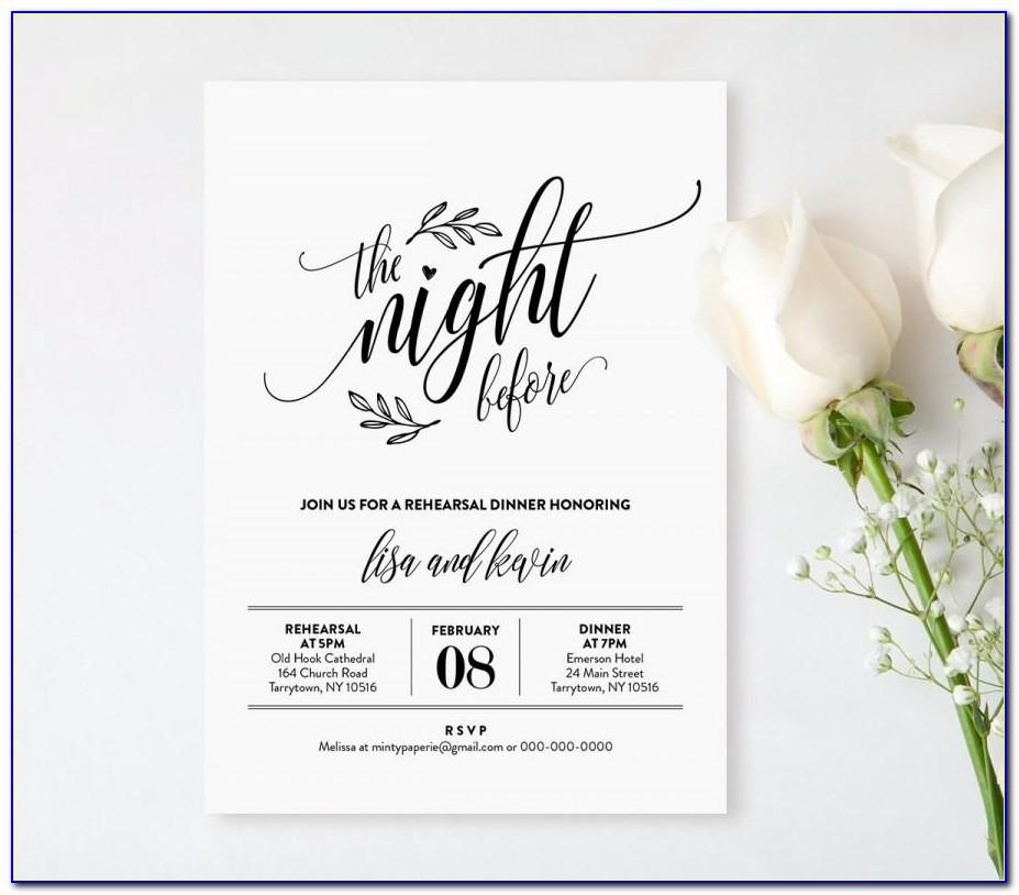 Rehearsal Dinner Invitation Wording Hosted By Groom's Parents