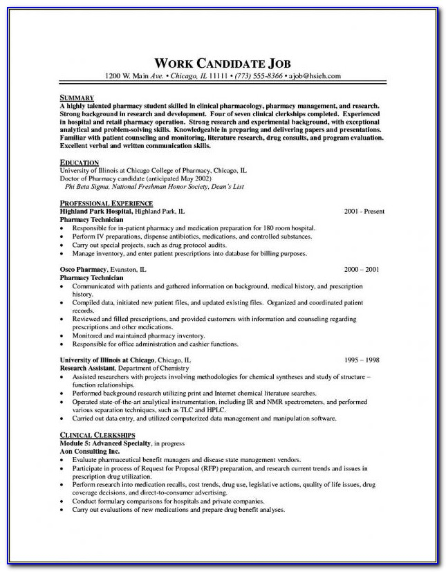 Resume Templates For Word 2016