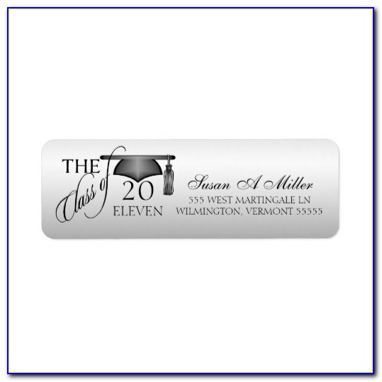 Return Address Label Template Word
