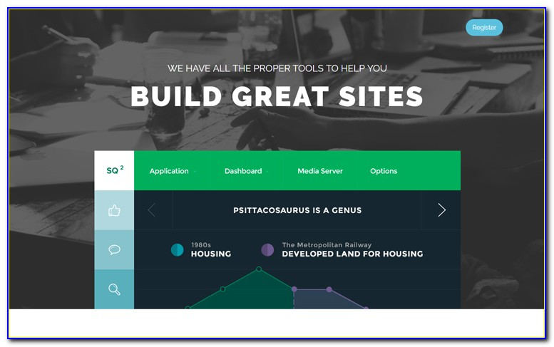 Template Blogger Landing Page Free