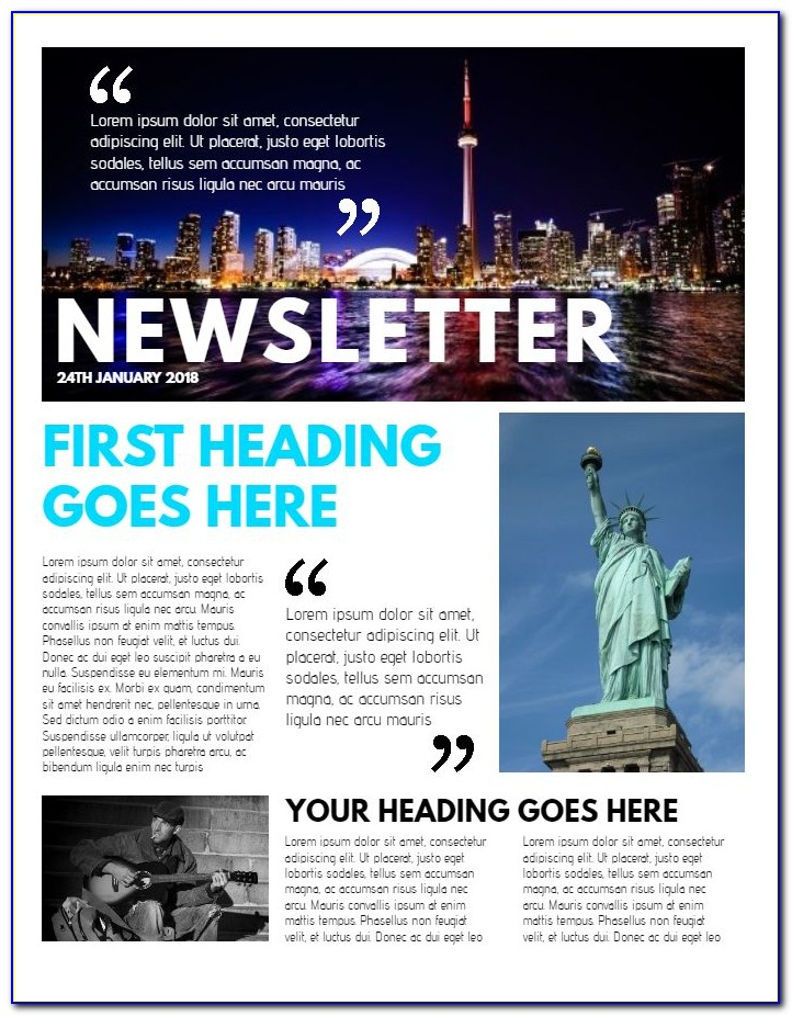 The Best Newsletter Templates
