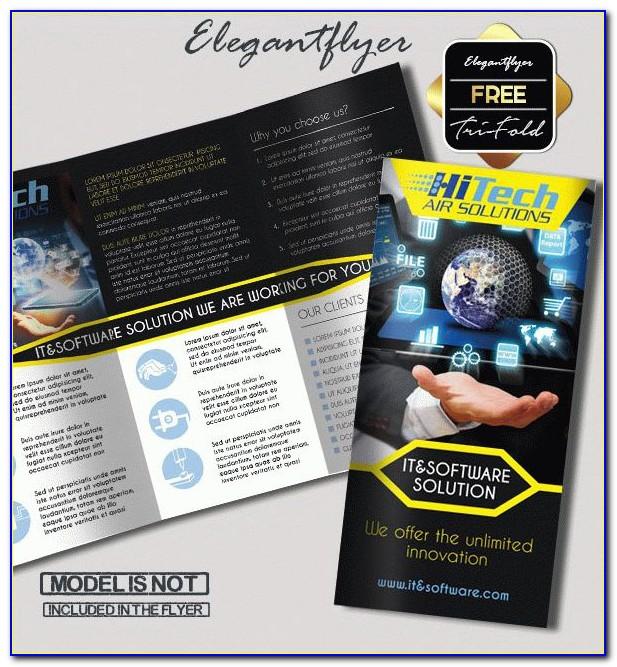 Tri Fold Brochure Template Free Illustrator