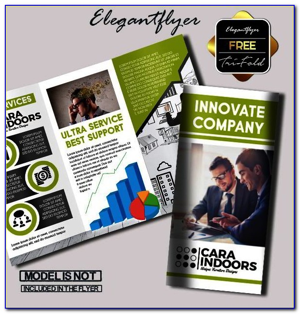 Tri Fold Brochure Template Free Indesign