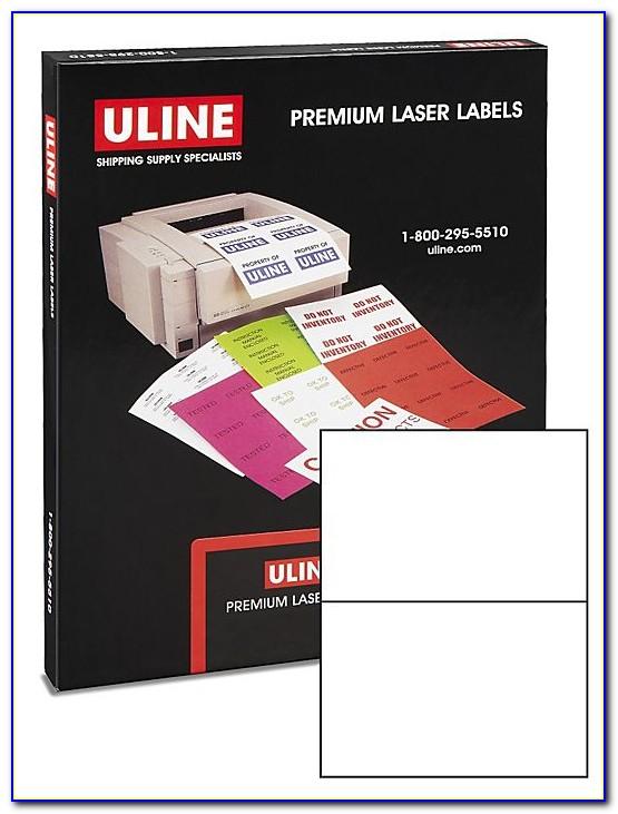 Uline Label Template S 13769