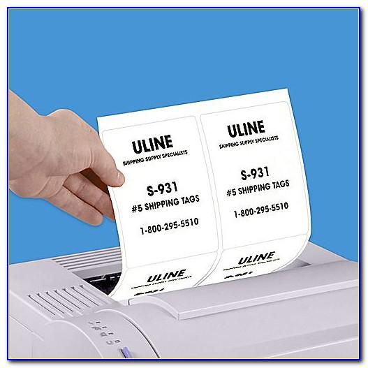 Uline Label Template S 5046