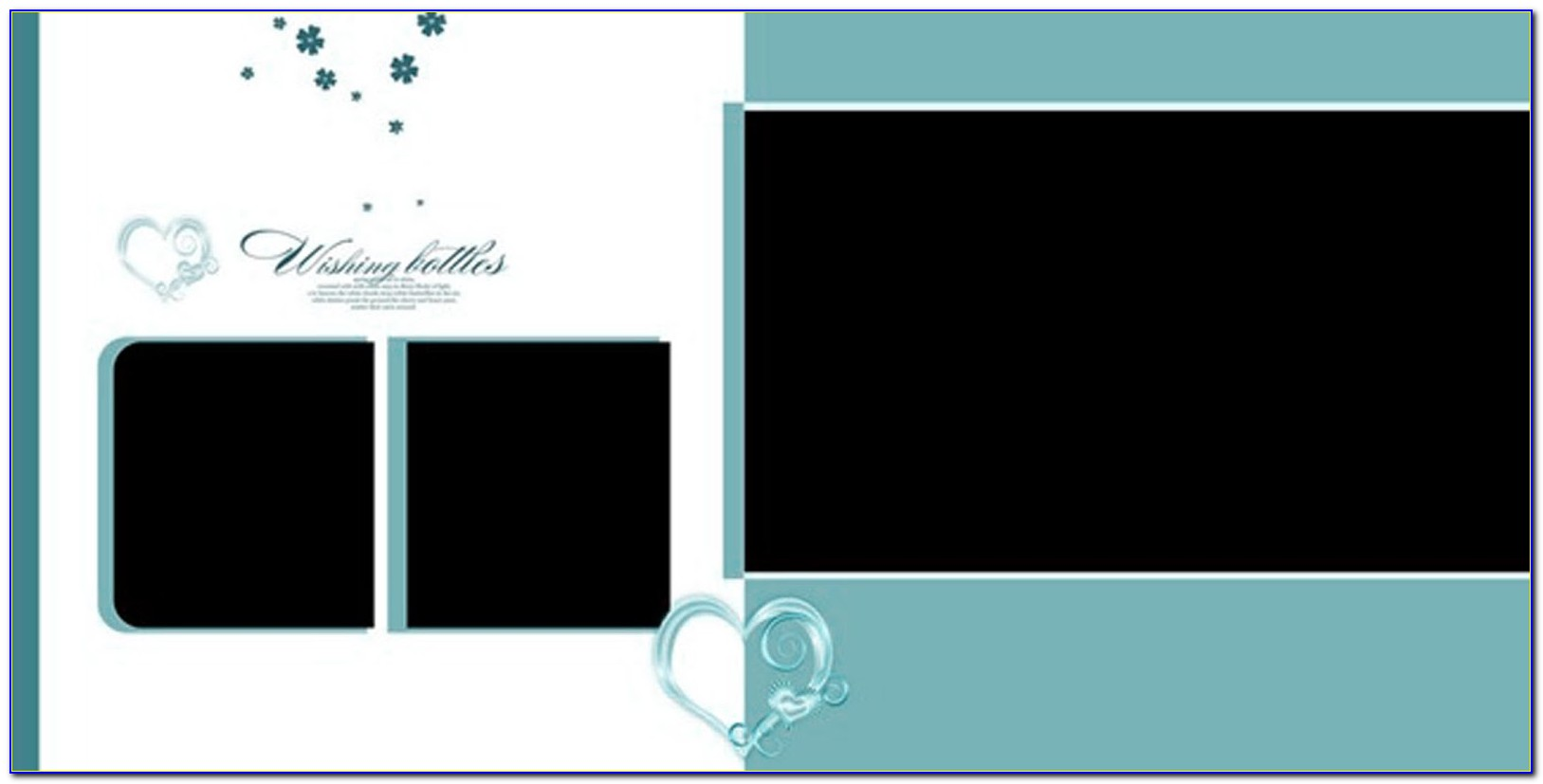 Wedding Album Design Templates Psd