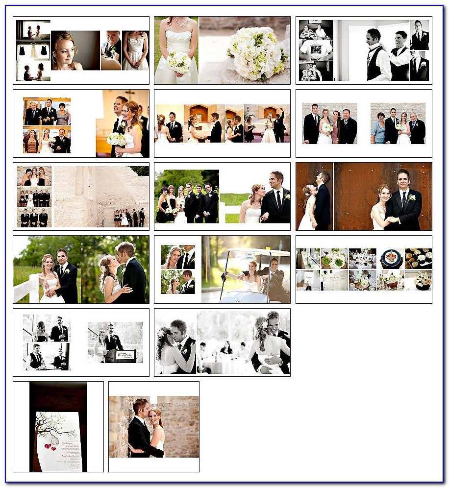 Wedding Albums Templates Free Download