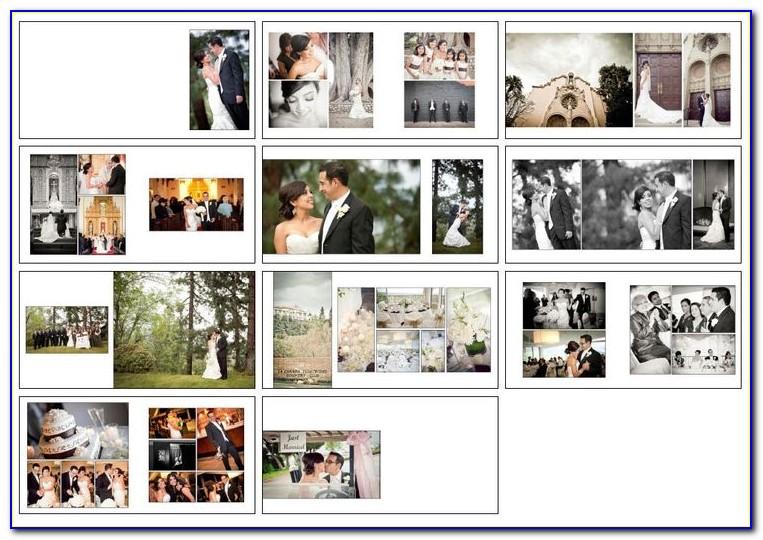 Wedding Photo Albums Design Psd Templates Vol 01
