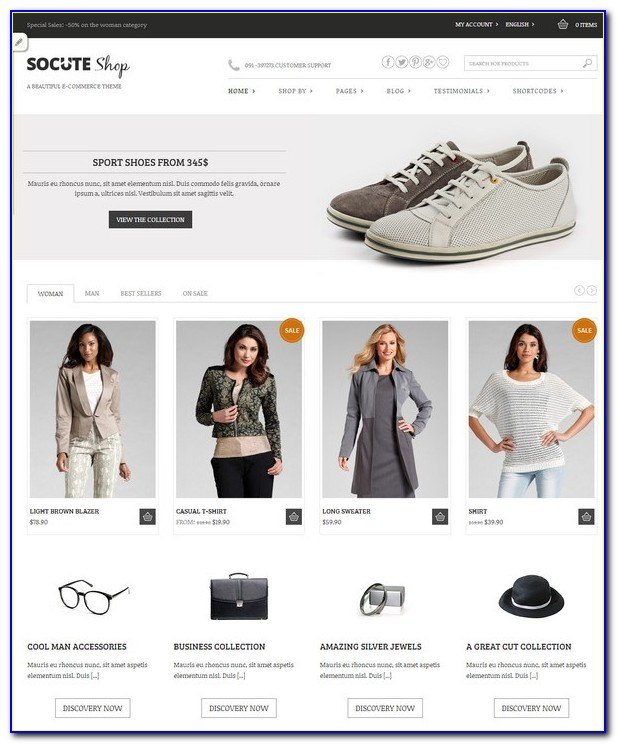 Wordpress Wholesale Ecommerce Theme