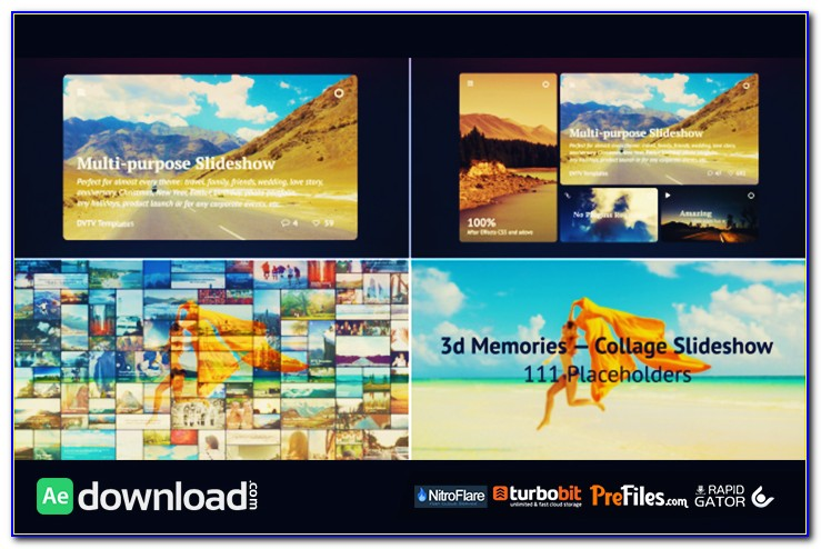 After Effects Slideshow Template Download