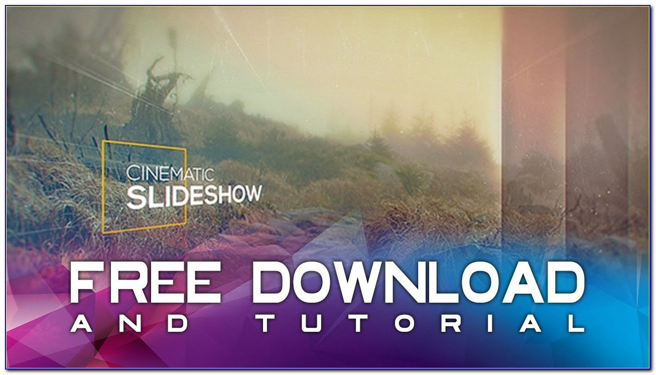 After Effects Slideshow Templates Free Download Zip