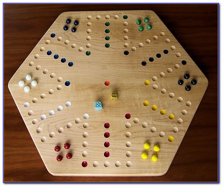 Aggravation Game Board Template