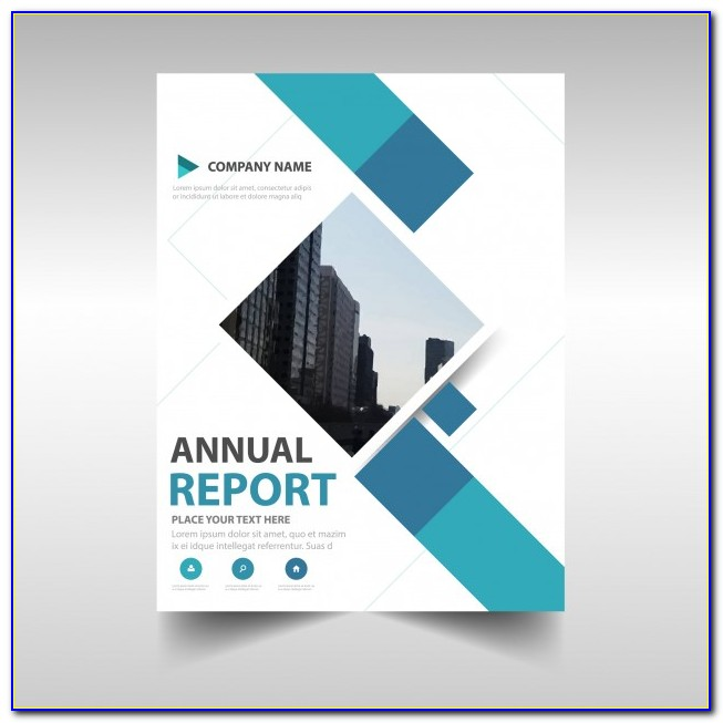 Annual Report Design Template Word