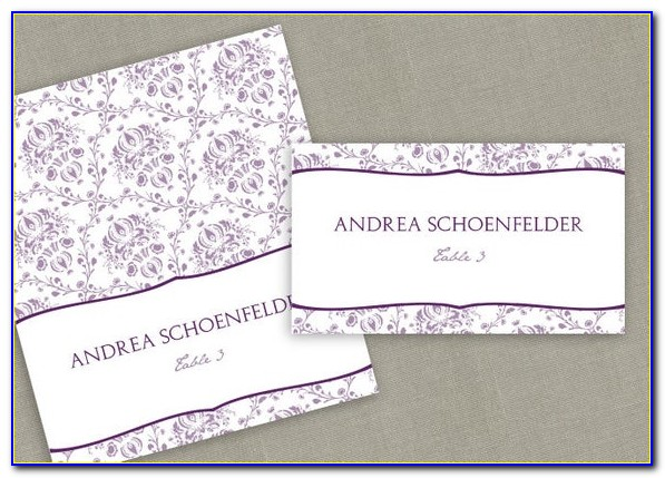 Avery Christmas Place Card Template