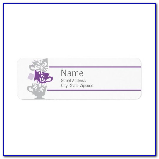 Avery Return Address Labels Template 18294