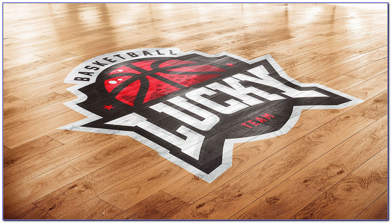 Basketball Court Template For Powerpoint