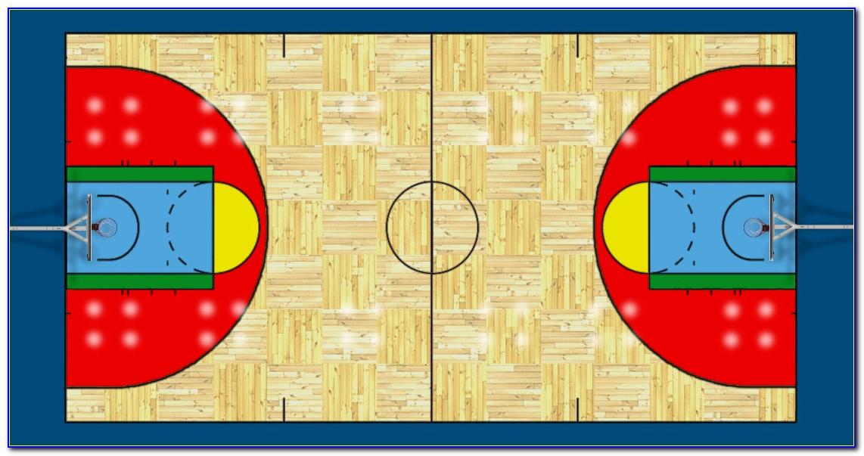 Basketball Court Templates Free