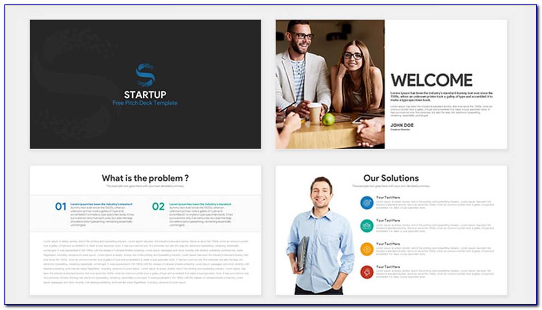 Best Startup Pitch Deck Template